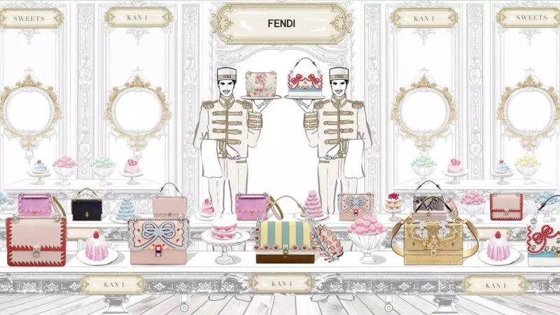 235fecdbed3a Soul Mate  Fendi Kan I Always be with You 2018