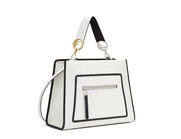 a284240432fb Geometric Art to Embellish Your Fendi Runaway Bag – Fendi Peekaboo ...