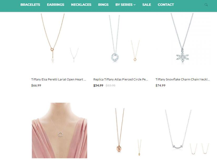 tiffany and co necklace replica sale at ekx.su